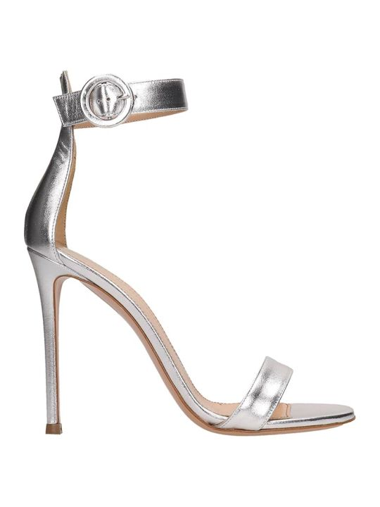 Lerre Silver Patent Leather