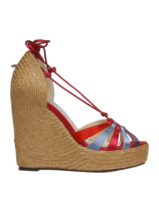 Jimmy Choo Denize Wedge Sandals