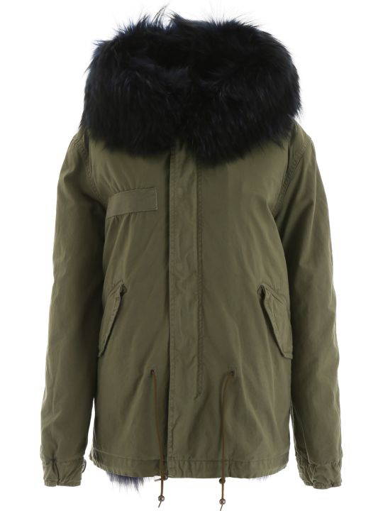 Mr & Mrs Italy Mini Parka With Fur