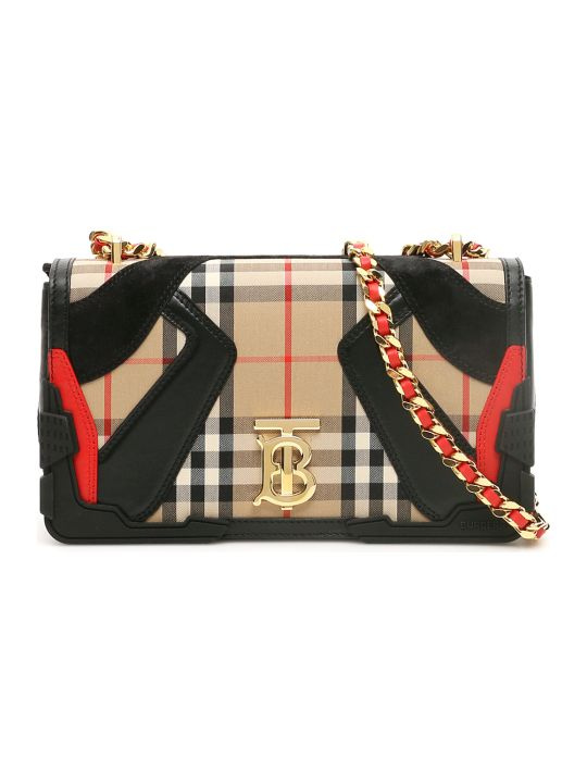 Burberry Lola Bag Tb Check Patches