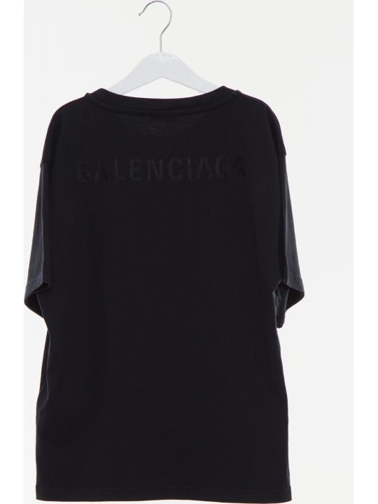 Balenciaga Embroidered Logo Tee