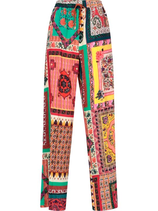 Etro Patchwork Pants