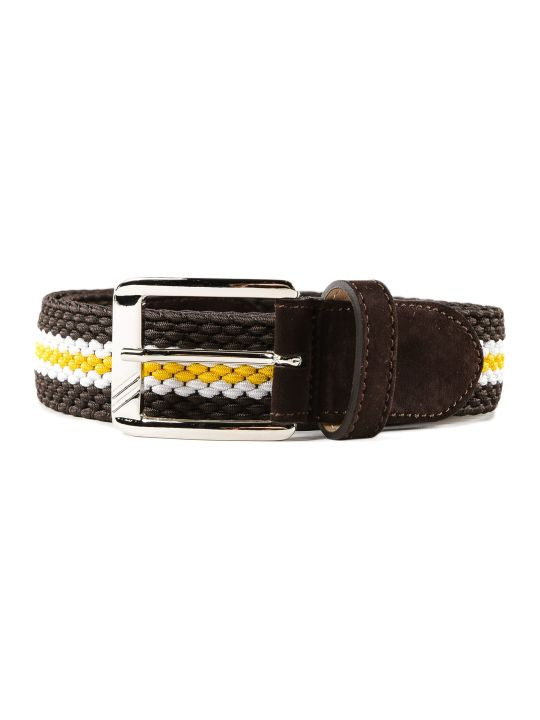 Moreschi Patterned Belt