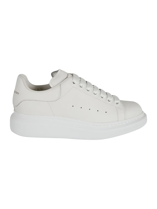 Alexander McQueen Perforated Logo Sneakers