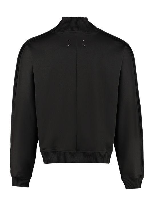Maison Margiela Techno Fabric Full-zip Sweatshirt