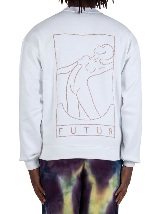 Futur Outline Crew - White
