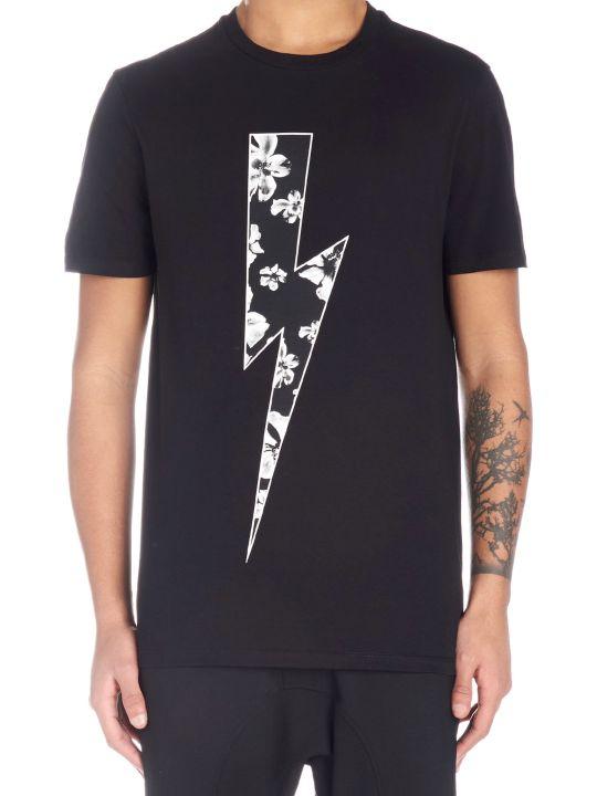 Neil Barrett 'thunder Anemone' T-shirt