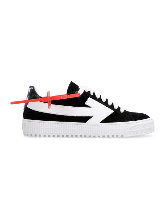 Off-White Suede Sneakers