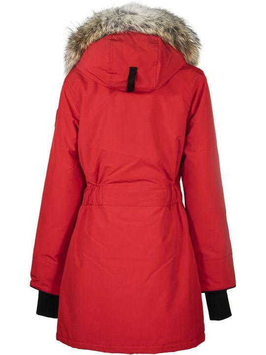 Canada Goose Trillium Parka Red Jacket
