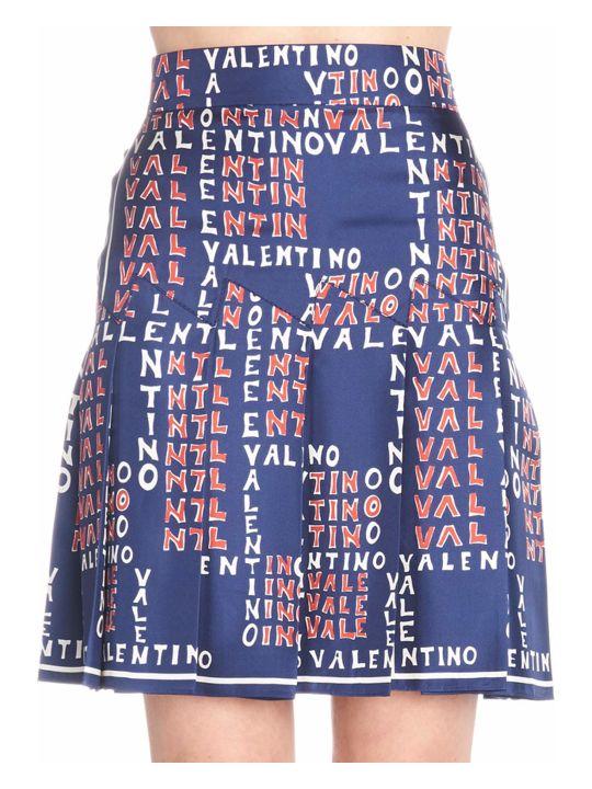 Valentino 'puzzle' Skirt