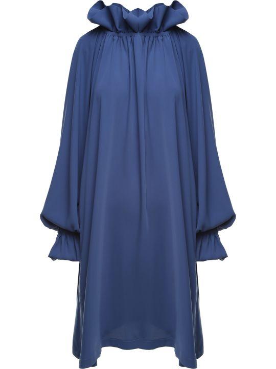 MM6 Maison Margiela Ruffled Jersey Midi Dress