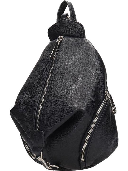 Rebecca Minkoff Backpack In Black Leather