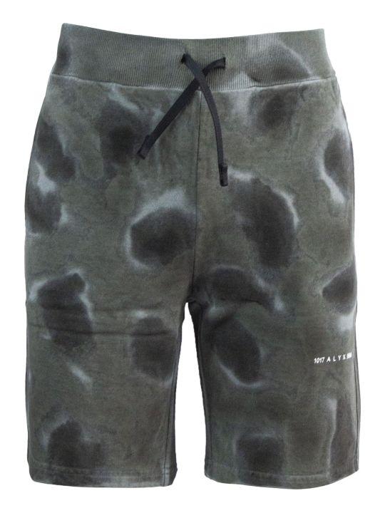 1017 ALYX 9SM Grey Cotton Shorts