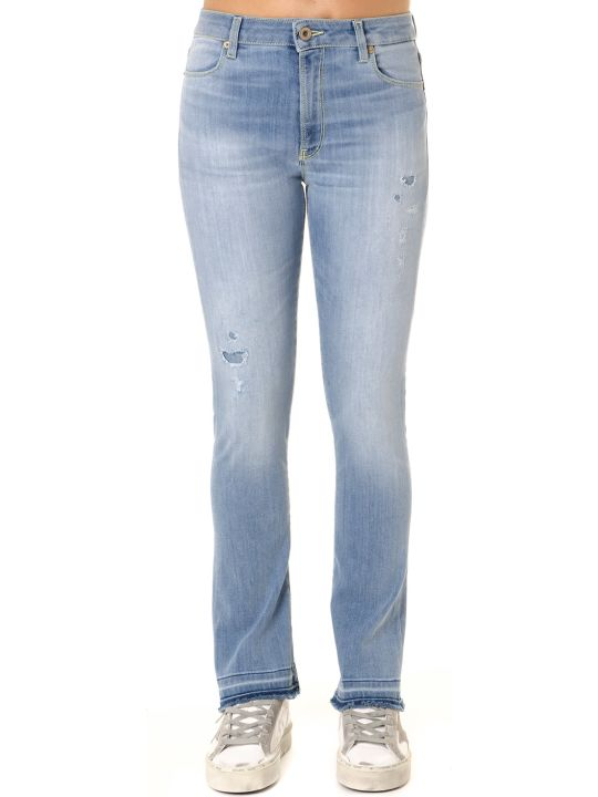 Dondup Ollie Light Wash Cotton Denim Jeans