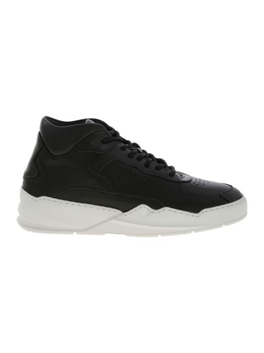 Filling Pieces Sneaker Leather Lay Up Icey Flow 2.0 Black