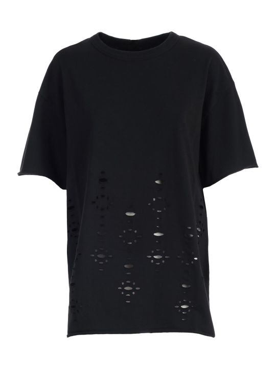See by Chloé Ripped T-shirt