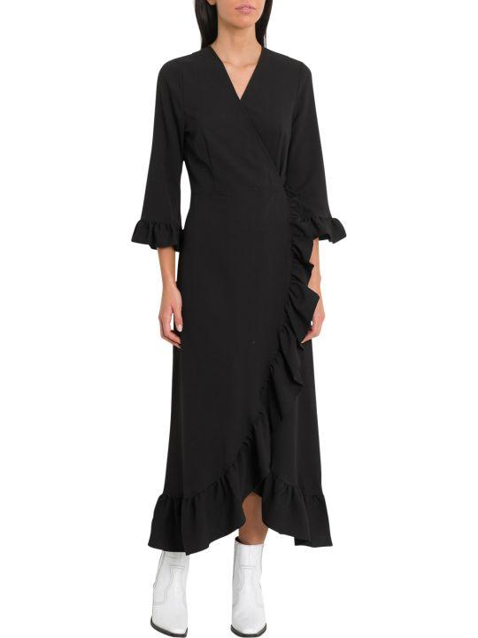 Ganni Clark Wrap Dress