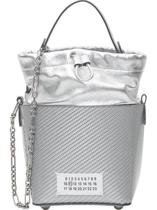 Maison Margiela Silver Bucket Bag