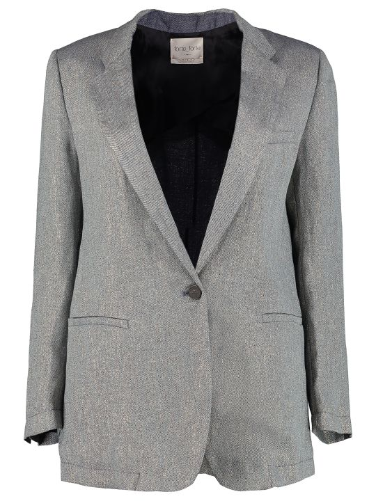 Forte_Forte Single-breasted One Button Jacket