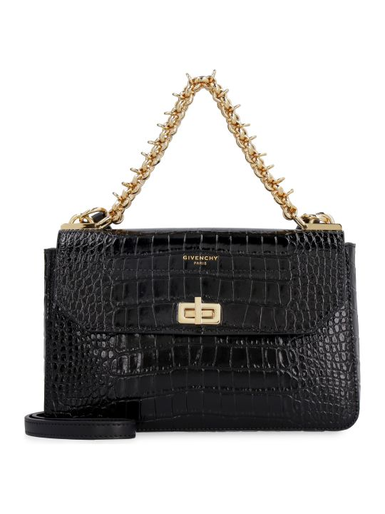 Givenchy Crocodile Effect Leather Bag