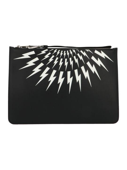 Neil Barrett 'thunderbolt' Bag
