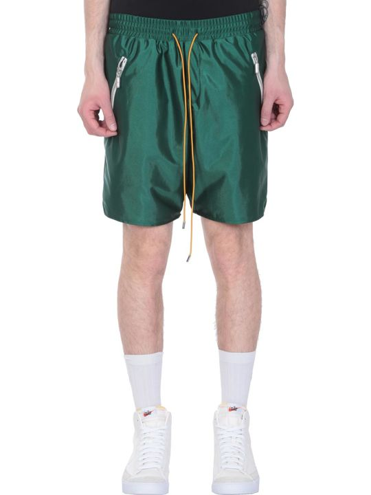 Rhude Green Polyester Shorts