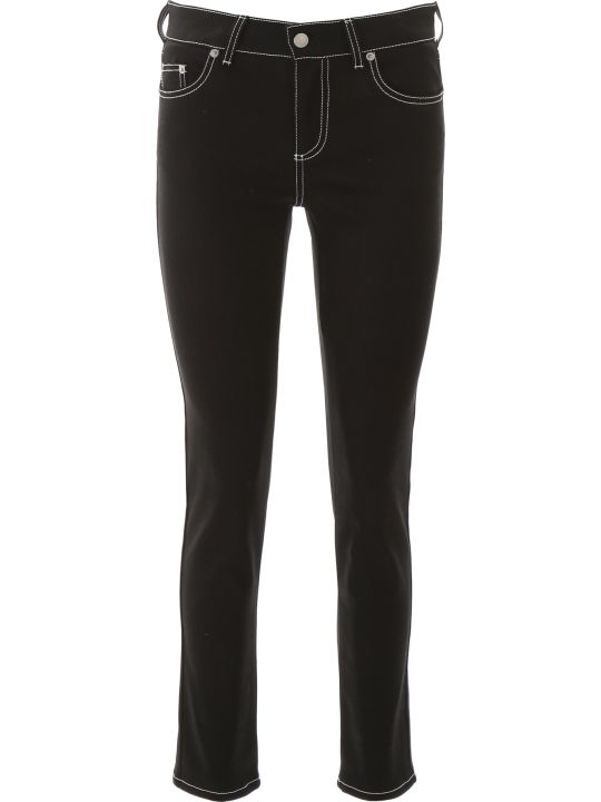 Alexander McQueen Jeans With Contrast Stitches