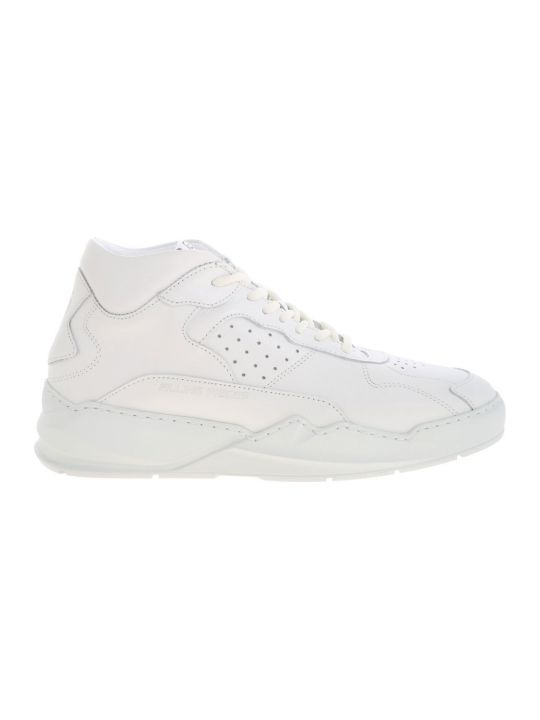 Filling Pieces Sneaker Leather Lay Up Icey Flow 2.0 All White