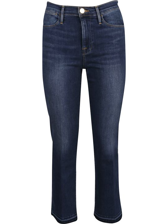 Frame Jeans Le High Straight Released Hem