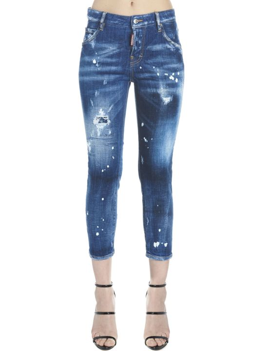 Dsquared2 'cool Girl Cropped' Jeans