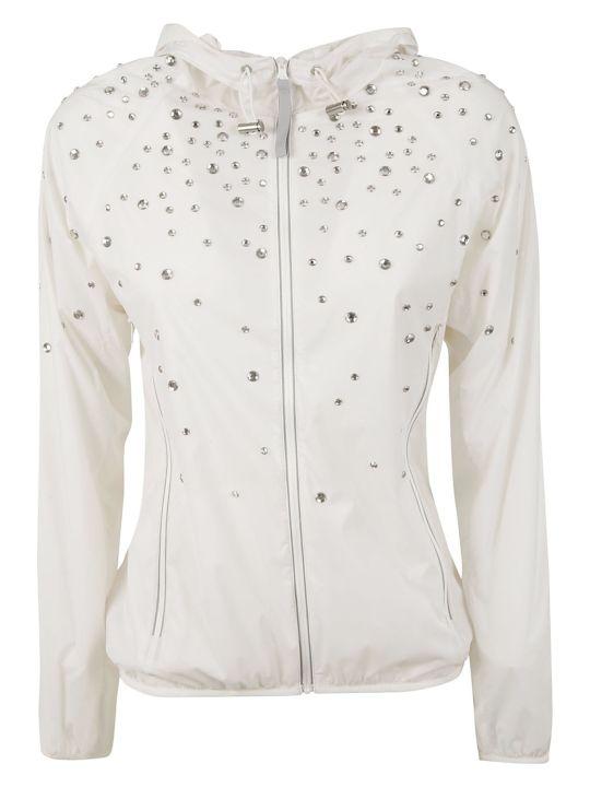 RED Valentino Rhinestones Athletic Jacket