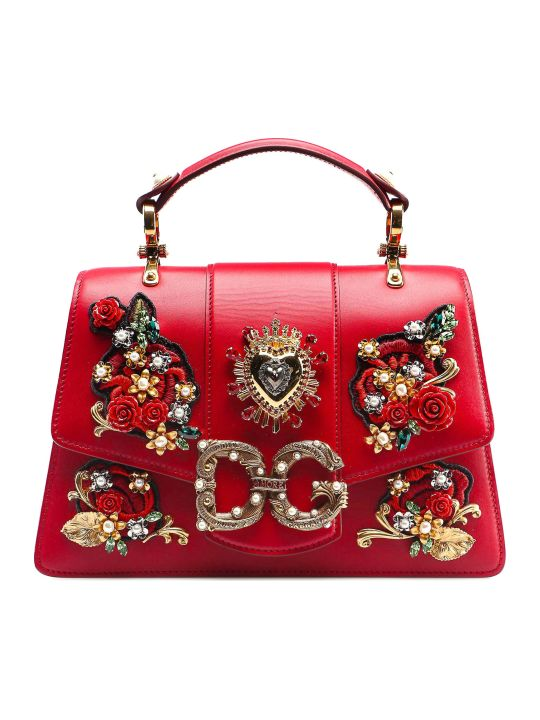 Dolce & Gabbana Calfskin Shoulder Bag