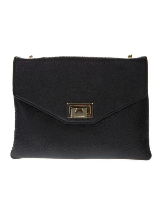 Coccinelle Florie Black Leather Bag