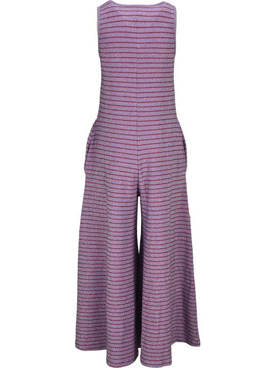 MM6 Maison Margiela Mm6 Stripes Lurex Jumpsuit