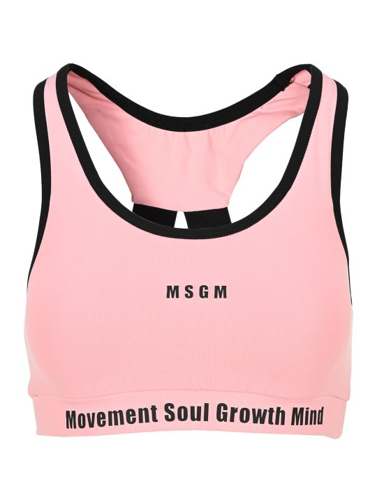 MSGM Lettering Sport Top