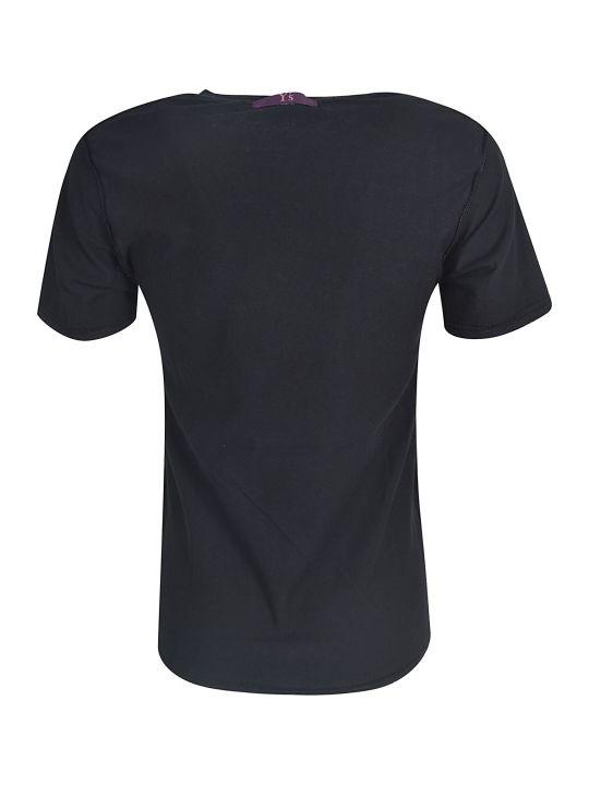 Y's Distress Printed T-shirt