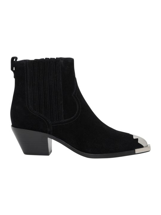 Ash Floyd Cowboy Ankle Boots