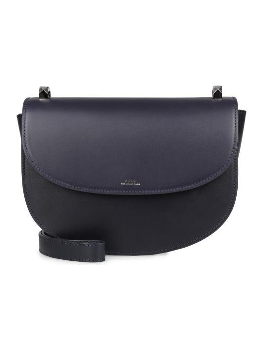A.P.C. Genève Leather Crossbody Bag