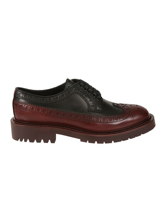 Burberry Brogue Detailed Derby Shoes