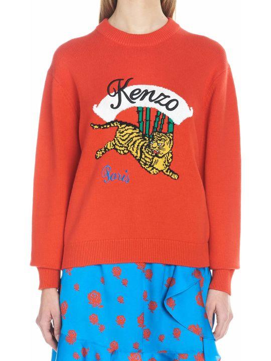 Kenzo 'bamboo Tiger' Sweater