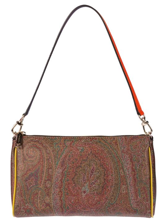 Etro Sottobraccio Book Paisley Shoulder Bag