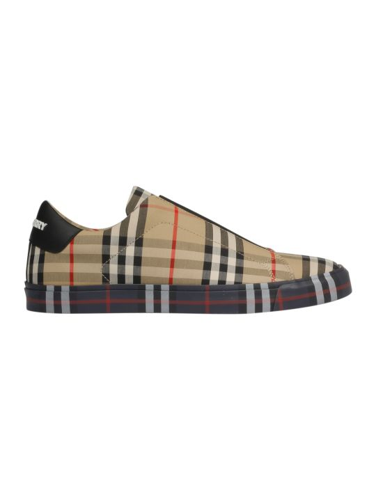 Burberry Logo Slip-on Sneakers