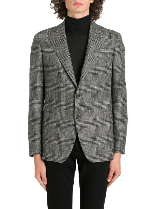 Tagliatore Plaid Wool Blazer