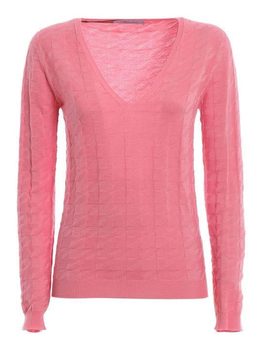 Blumarine V Neck Sweater