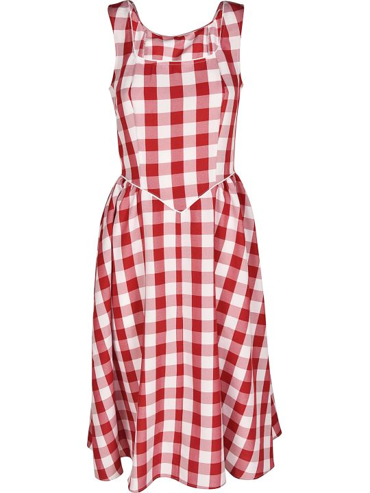 Batsheva Checked Dress