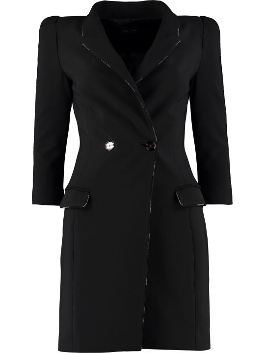 Elisabetta Franchi Celyn B. Double Breasted Blazer Dress