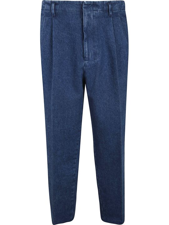 Ami Alexandre Mattiussi Loose-fit Woven Trousers