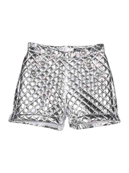 Balmain Quilted Shorts