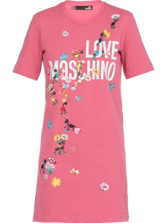 Love Moschino Dress With Prints