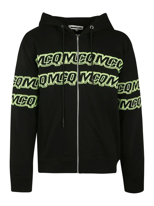 McQ Alexander McQueen Hooded Zipped Jacket